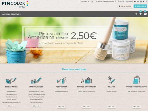 Nueva web de PINCOLOR