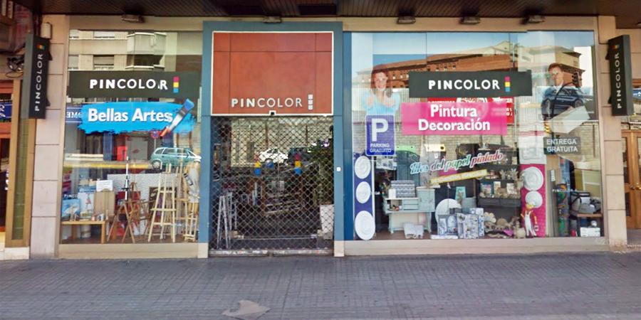 PINCOLOR, tienda de bellas artes